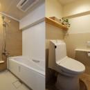 介護しやすい家へ 娘からのプレゼントの写真 使いやすさにこだわった浴室・トイレ