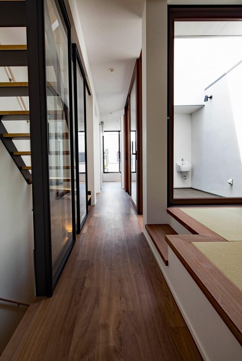 一之江の家 (廊下)