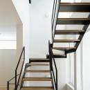春日の家の写真 階段