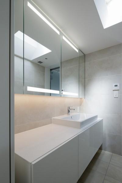 洗面室 (春日の家)