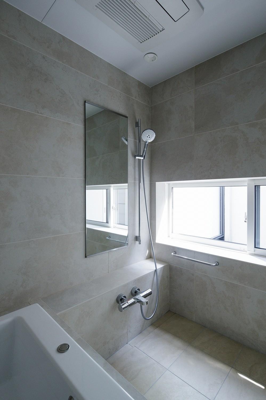 バス/トイレ事例:浴室(春日の家)