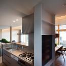 早宮の家の写真 キッチン+ワークスペース