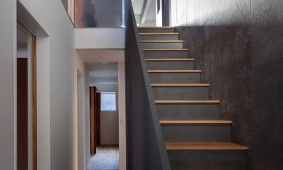 早宮の家 (吹き抜け階段)