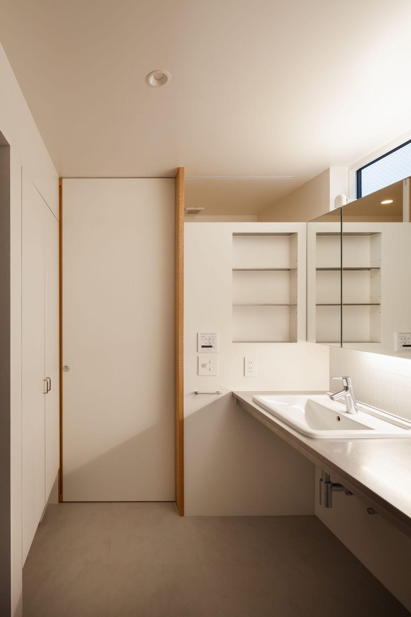 バス/トイレ事例:洗面室(早宮の家)