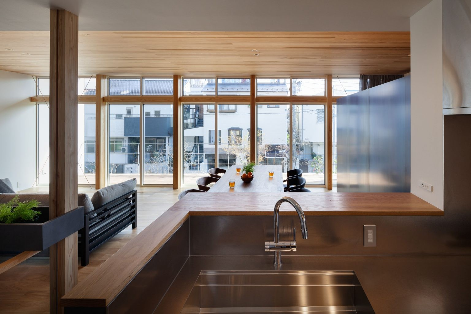 キッチン事例:2階LDK(早宮の家)