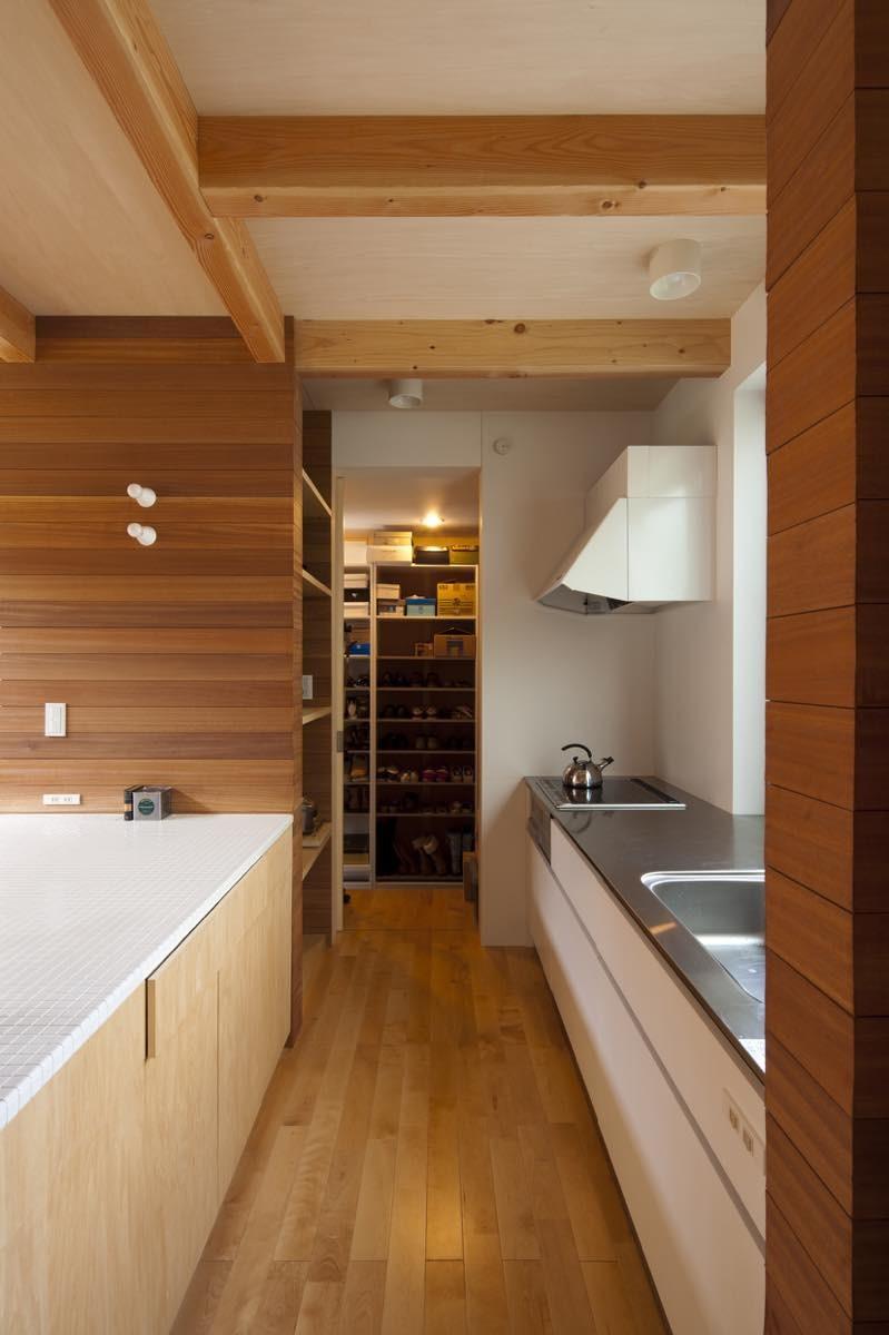 キッチン事例:内観24(宮前平の家)