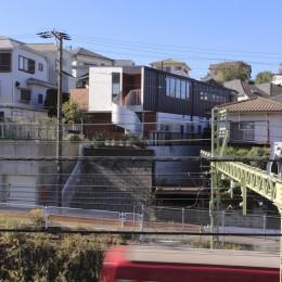 上大岡の長屋 (外観1)