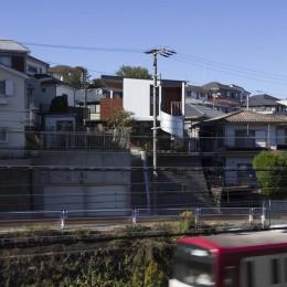 上大岡の長屋 (外観3)