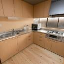 木のぬくもりのある暮らしの写真 キッチン