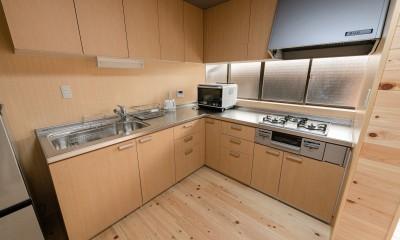 木のぬくもりのある暮らし (キッチン)