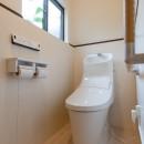 木のぬくもりのある暮らしの写真 トイレ