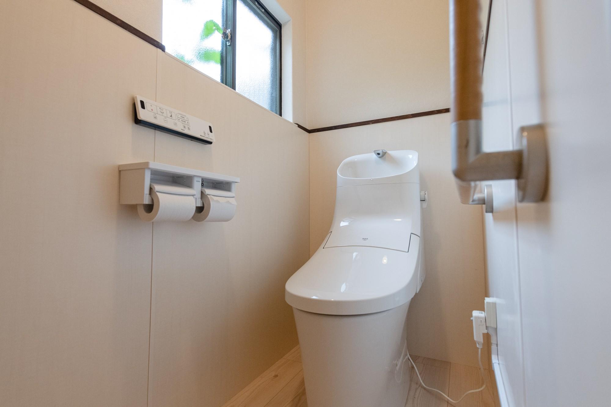 バス/トイレ事例:トイレ(木のぬくもりのある暮らし)