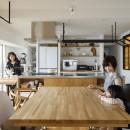 ゆい-家族がポジティブに暮らすためのバリアフリー。将来に備えてリノベーションの写真 ダイニングキッチン