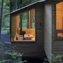 森の小屋/とっておきの時間を過ごすための小さな居場所の写真 北側外観