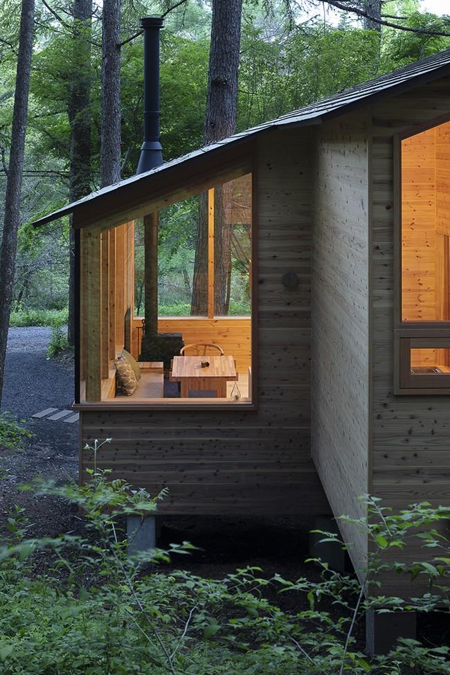 森の小屋/とっておきの時間を過ごすための小さな居場所 (北側外観)