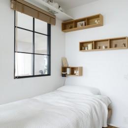 ゆい-家族がポジティブに暮らすためのバリアフリー。将来に備えてリノベーション (ご長女様の寝室)