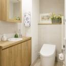 ゆい-家族がポジティブに暮らすためのバリアフリー。将来に備えてリノベーションの写真 トイレ