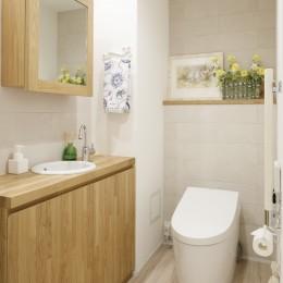 ゆい-家族がポジティブに暮らすためのバリアフリー。将来に備えてリノベーション (トイレ)