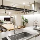 ゆい-家族がポジティブに暮らすためのバリアフリー。将来に備えてリノベーションの写真 リビングキッチン