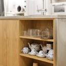 ゆい-家族がポジティブに暮らすためのバリアフリー。将来に備えてリノベーションの写真 キッチン収納