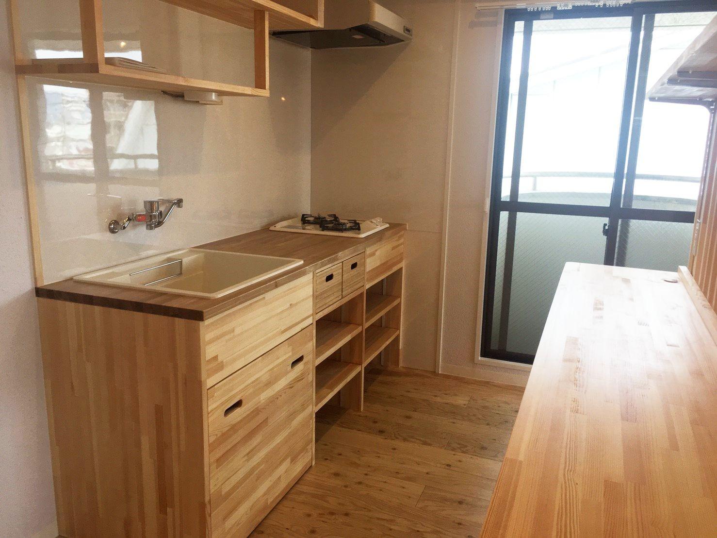 キッチン事例:キッチン(Eマンション~ハンモックのある暮らし~)