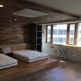 ホテルライクな暮らし (ベッドルーム)