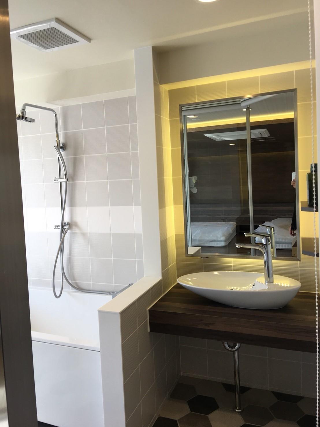 バス/トイレ事例:洗面スペース(ホテルライクな暮らし)