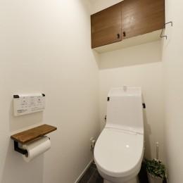 予算内で抑えたい!中古物件購入+リノベーション (シンプルで機能性の高いトイレ)