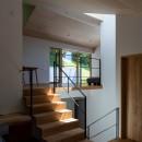 平岸の家 KWHの写真 和室から居間を見る