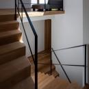 平岸の家 KWHの写真 階段1