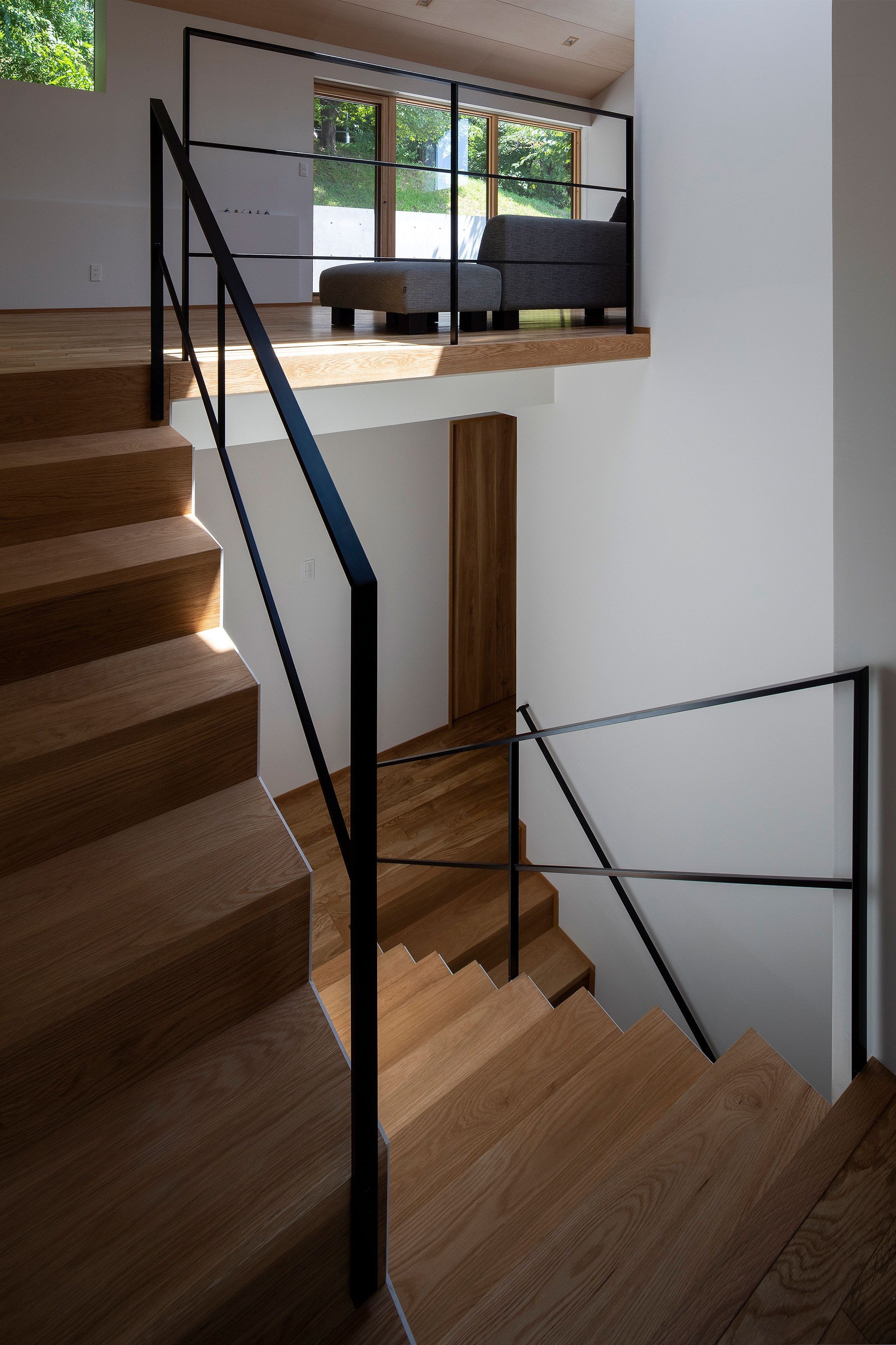 その他事例:階段1(平岸の家 KWH)