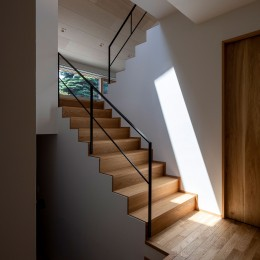 平岸の家 KWH (階段2)