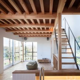 鎌倉玉縄テラス (2階LDK(キッチンからの眺め))