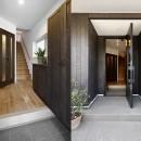 エアコンが苦手な奥様に 一年を通して温度変化の少ない家の写真 風格漂う玄関