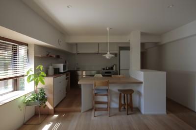 都島のマンションリフォーム2 (LDK)