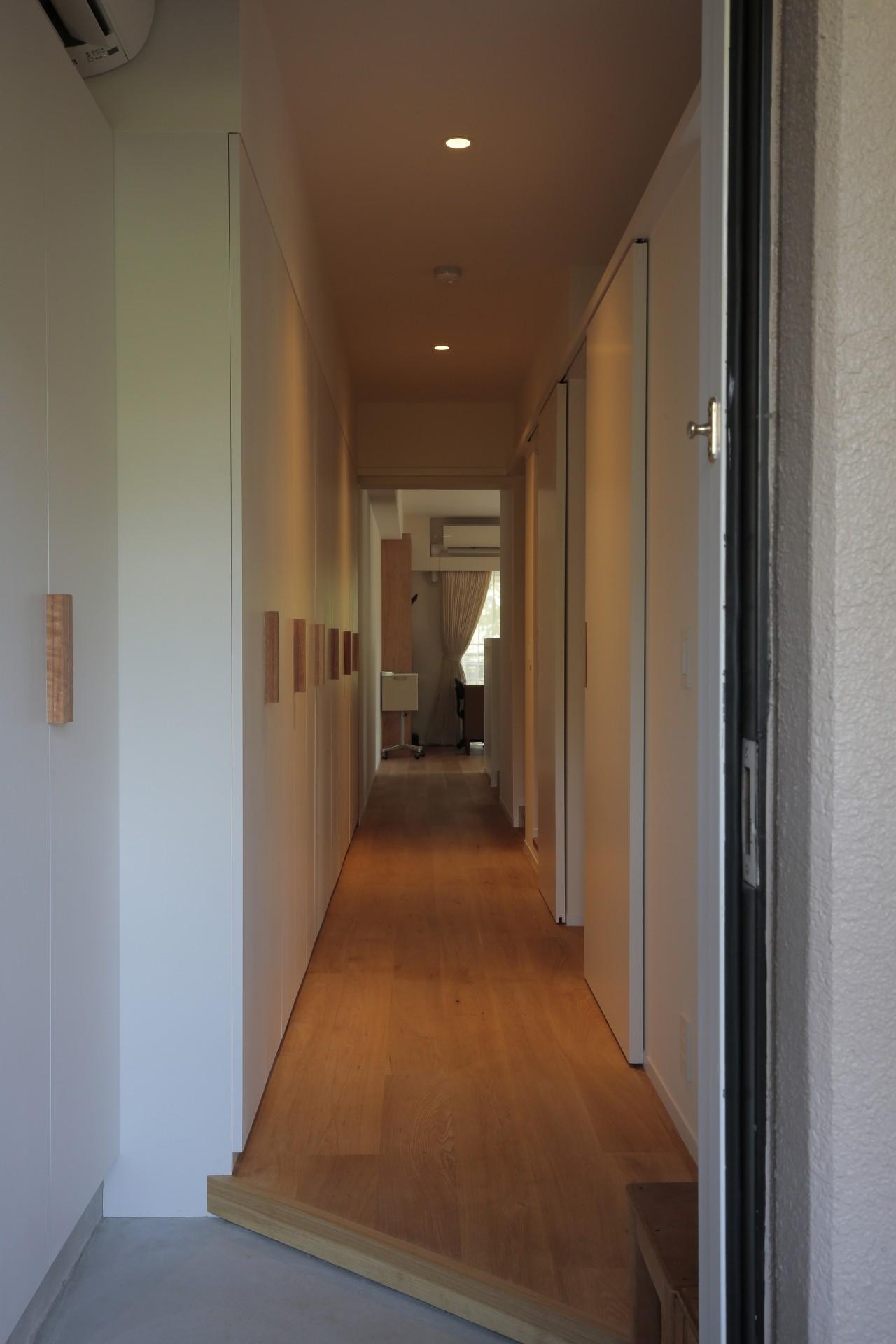 玄関事例:玄関(都島のマンションリフォーム2)