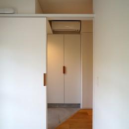 都島のマンションリフォーム2 (居室から玄関)