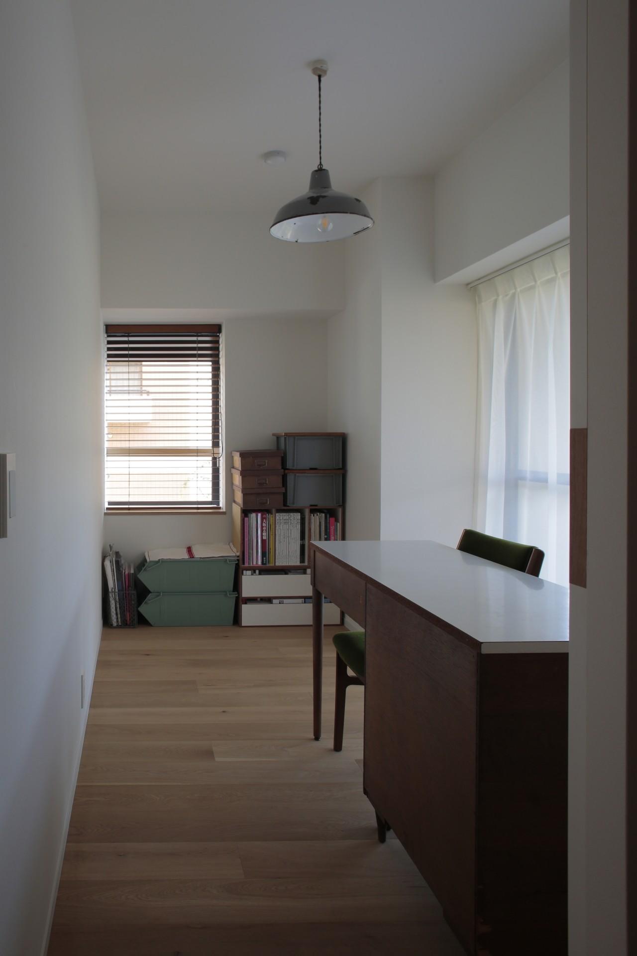 書斎事例:居室(都島のマンションリフォーム2)