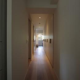 都島のマンションリフォーム2 (LDKから廊下)