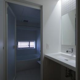 都島のマンションリフォーム2 (洗面脱衣室)