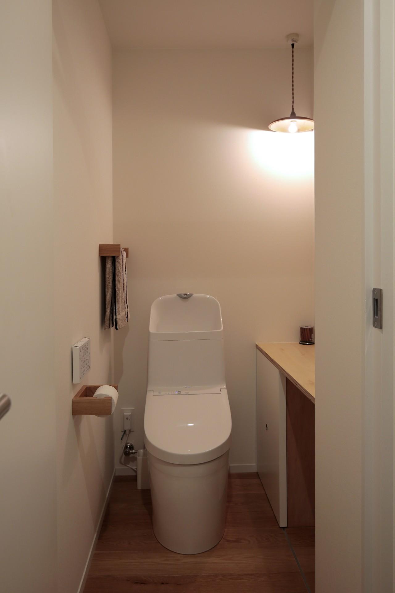 バス/トイレ事例:トイレ(都島のマンションリフォーム2)