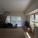 都島のマンションリフォーム2の写真 キッチンからLDK