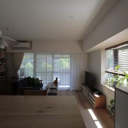 都島のマンションリフォーム2 (キッチンからLDK)
