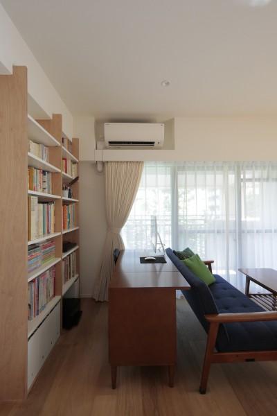 都島のマンションリフォーム2 (仕事スペース)