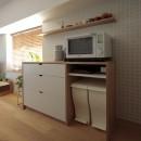 都島のマンションリフォーム2の写真 キッチン収納