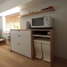 都島のマンションリフォーム2 (キッチン収納)