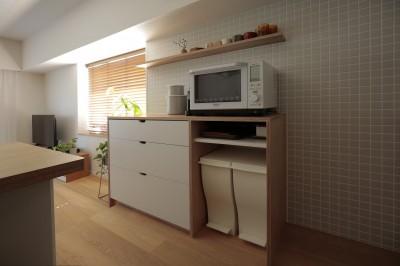 キッチン収納 (都島のマンションリフォーム2)