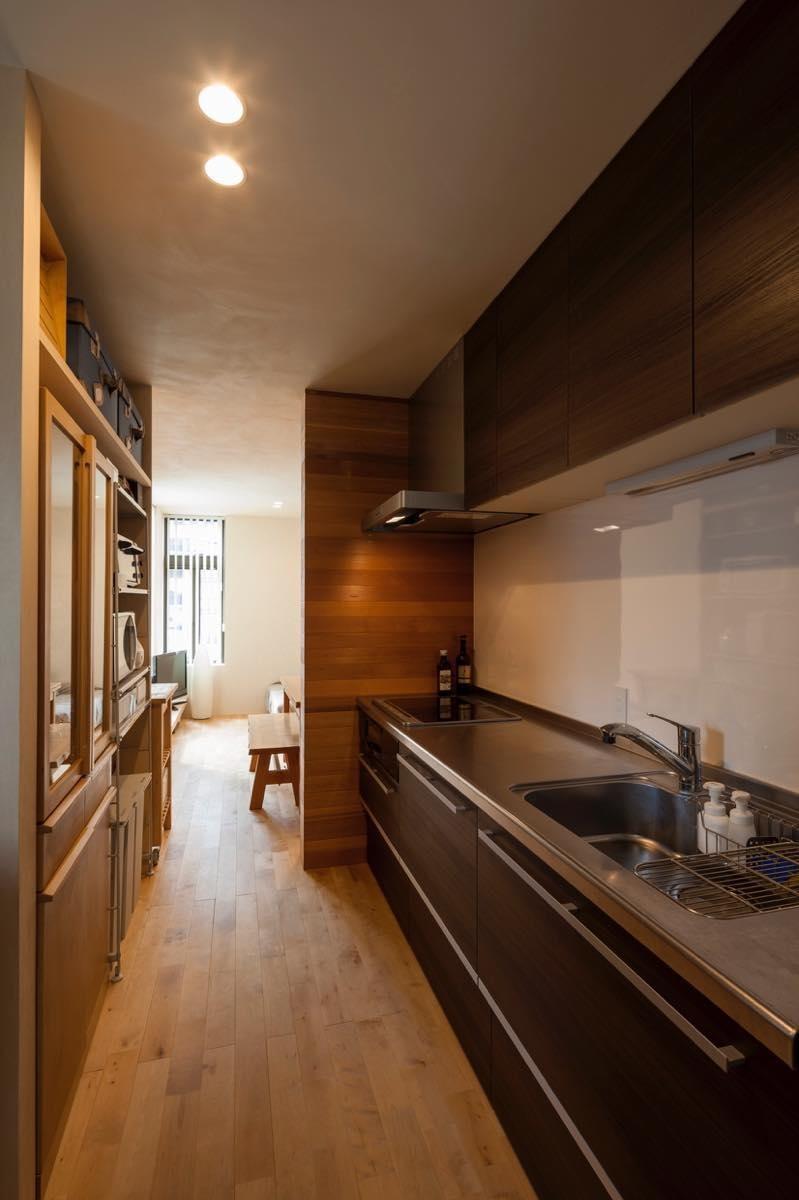 キッチン事例:内観12(美しが丘・A邸 + Verveine)