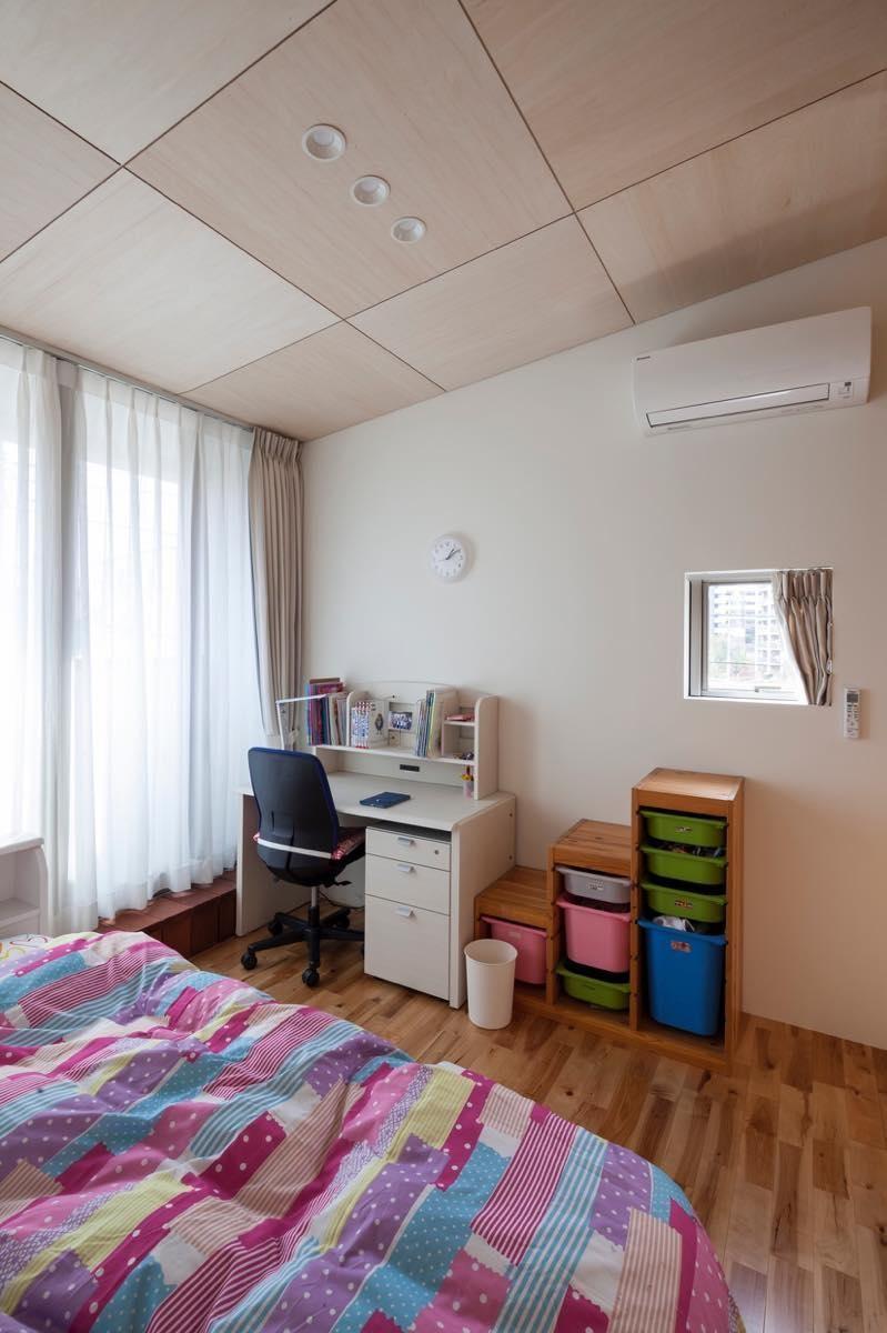 子供部屋事例:内観30(はるひ野の家)