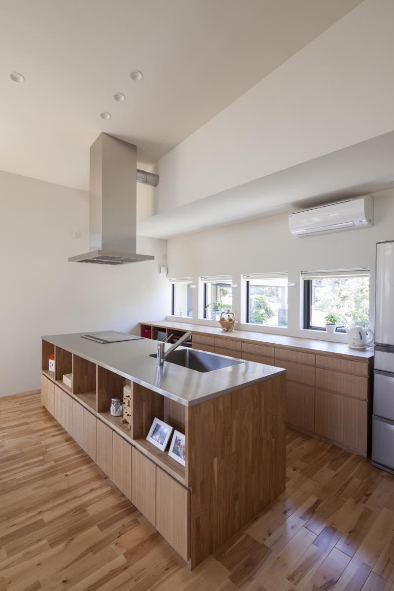 キッチン事例:内観26(藤が丘の家・T邸)